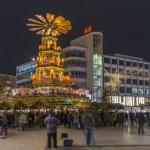 Christmas pyramid in Hannover — Foto de Stock   #59395037