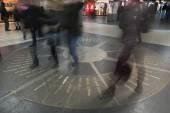 The mosaic compass in Hanover — Foto de Stock