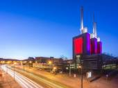 Hannover-Linden Power Plant at evening — Stock Photo