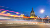 Hannover at evening — Stock Photo