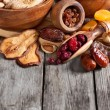 Mix of dried fruits — Stock Photo #61552569
