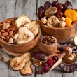 Mix of dried fruits — Stock Photo #61552597