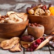 Mix of dried fruits — Stock Photo #61552779