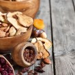 Mix of dried fruits — Stock Photo #61552795
