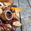 Mix of dried fruits — Stock Photo #61552823
