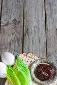 Passover background — Stock Photo