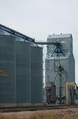 Grain Silo — Stock Photo