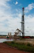 Workover rig — Foto Stock