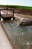 Cancello di irrigazione — Foto Stock