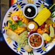 Vegetarian mexican food — Stock Photo #54351189