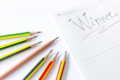 Pencils concept — Stock Photo