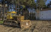 An excavator ready for work — Stock Photo