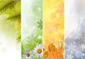 Seasons  — Stock Photo