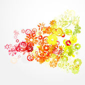 Abstract spring background — Stock Vector