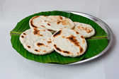 Fresh Homemade Sri Lankan Pol Roti — Stock Photo