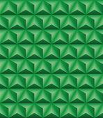 Dreieckige pyramide grün nahtlose textur — Stockvektor