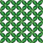 Flower Mesh emeralds seamless texture vector — Stock Vector #64913823