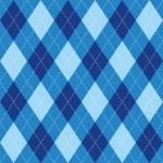 ������, ������: Argyle pattern blue rhombus seamless texture