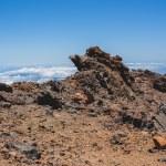 Volcanic lava landscape of Tenerife — Stock Photo #56430275