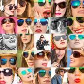 Fashion woman wearing glasses — Stock Photo