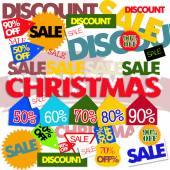 Christmas sales — Stock Photo