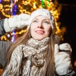 Christmas woman — Stock Photo #60677097