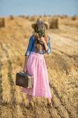 Travel woman — Stock Photo