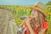 Krásné cestovatel — Stock fotografie
