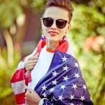 Usa woman — Stock Photo #69592865