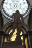 Michelangelo david, david miguel angel original — Stock Photo