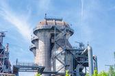 Industrial buildings, blast furnace, tower — Stock Photo