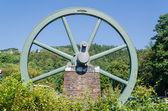 Feed wheel, winding tower, — Stock Photo
