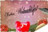 Christmas card, Christmas Greetings — Stock Photo