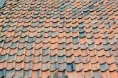 Old roof renovation — Stock Photo