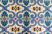 Ancient mosaic tile floor — Stock Photo