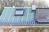 Roof modernization — Stock Photo