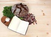 Diet diary — Stock Photo