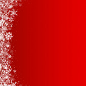 Snowflakes background with abstract falling snow — Stock Photo