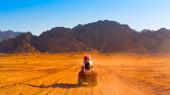 Motosiklet safari mısır — Stok fotoğraf