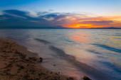 Sunset  tropical sea — Foto de Stock