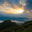 Mountain sunset summer — Stock Photo #56499299
