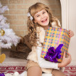 Christmas girl — Stock Photo #57595189