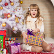Christmas girl — Stock Photo #57596085
