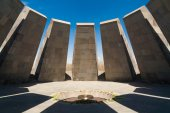 Armenia, genocide monument — Stock Photo