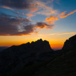 Mountain sunset summer — Stock Photo #65719259