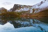 Lake sunset autumn — Stock Photo