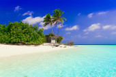 Maldives  day tropical — Stock Photo