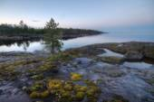 Dawn in the Ladoga skerries — ストック写真