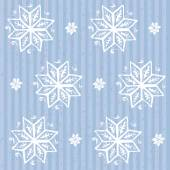 Seamless background with snowflakes  — Stock Vector