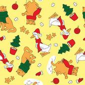 圣诞小图案 — 图库矢量图片